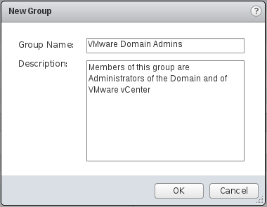 Configure group